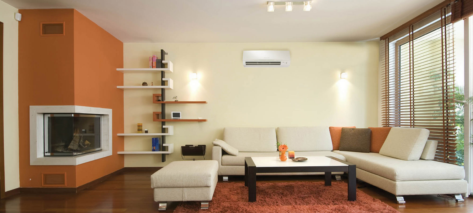 Ductless Living Room